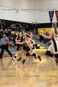 JV Girls Basketball Center Point-Urbana vs Vinton-Shellsburg-1611