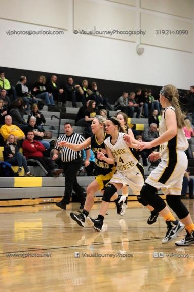 JV Girls Basketball Center Point-Urbana vs Vinton-Shellsburg-1613