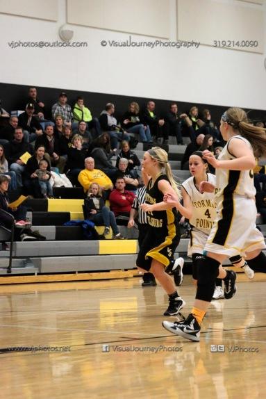 JV Girls Basketball Center Point-Urbana vs Vinton-Shellsburg-1614