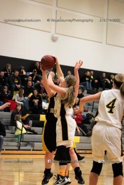 JV Girls Basketball Center Point-Urbana vs Vinton-Shellsburg-1620
