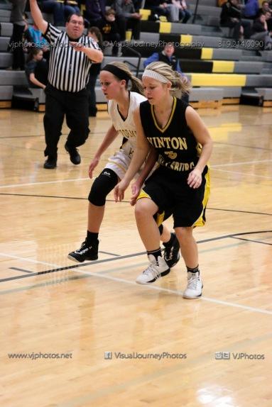JV Girls Basketball Center Point-Urbana vs Vinton-Shellsburg-1626