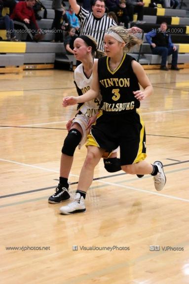 JV Girls Basketball Center Point-Urbana vs Vinton-Shellsburg-1627