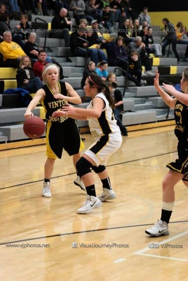 JV Girls Basketball Center Point-Urbana vs Vinton-Shellsburg-1639