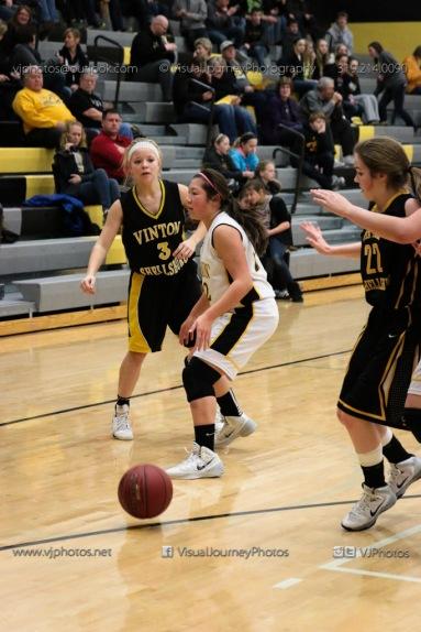 JV Girls Basketball Center Point-Urbana vs Vinton-Shellsburg-1640