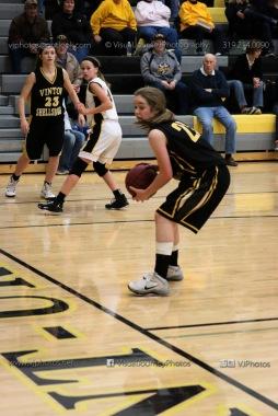 JV Girls Basketball Center Point-Urbana vs Vinton-Shellsburg-1645
