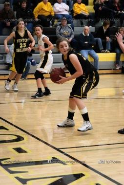 JV Girls Basketball Center Point-Urbana vs Vinton-Shellsburg-1646