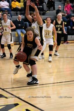 JV Girls Basketball Center Point-Urbana vs Vinton-Shellsburg-1647