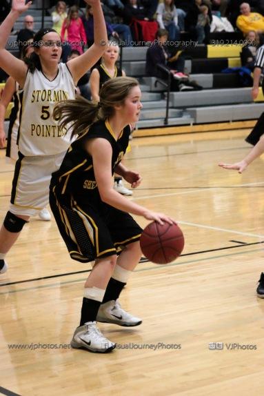 JV Girls Basketball Center Point-Urbana vs Vinton-Shellsburg-1652