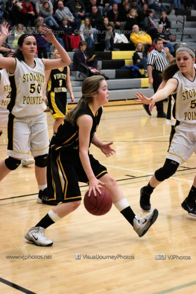 JV Girls Basketball Center Point-Urbana vs Vinton-Shellsburg-1653