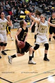 JV Girls Basketball Center Point-Urbana vs Vinton-Shellsburg-1654