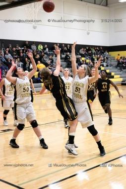 JV Girls Basketball Center Point-Urbana vs Vinton-Shellsburg-1658