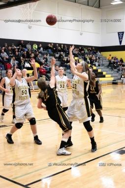 JV Girls Basketball Center Point-Urbana vs Vinton-Shellsburg-1659