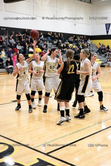 JV Girls Basketball Center Point-Urbana vs Vinton-Shellsburg-1665