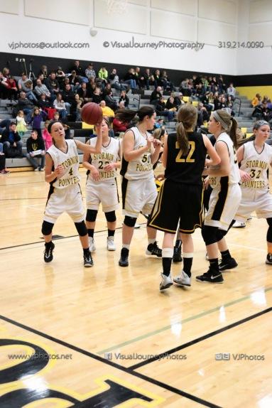 JV Girls Basketball Center Point-Urbana vs Vinton-Shellsburg-1666