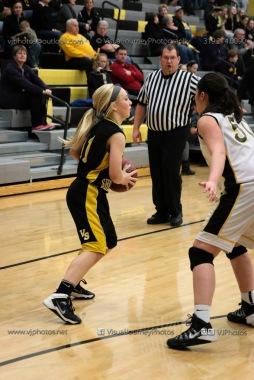 JV Girls Basketball Center Point-Urbana vs Vinton-Shellsburg-1673