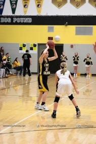JV Girls Basketball Center Point-Urbana vs Vinton-Shellsburg-1675