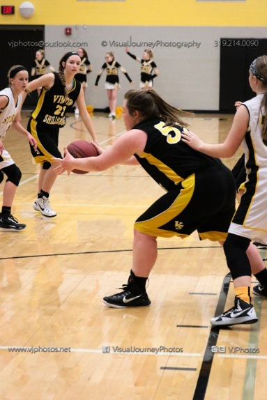 JV Girls Basketball Center Point-Urbana vs Vinton-Shellsburg-1679