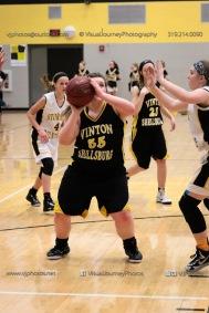 JV Girls Basketball Center Point-Urbana vs Vinton-Shellsburg-1683