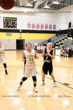 JV Girls Basketball Center Point-Urbana vs Vinton-Shellsburg-1686