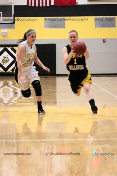 JV Girls Basketball Center Point-Urbana vs Vinton-Shellsburg-1691