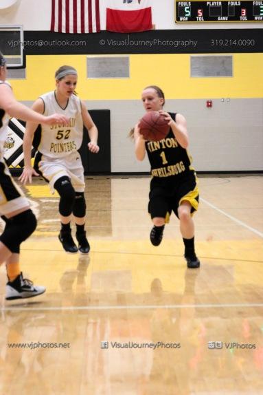JV Girls Basketball Center Point-Urbana vs Vinton-Shellsburg-1692
