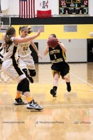 JV Girls Basketball Center Point-Urbana vs Vinton-Shellsburg-1693