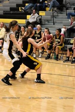 JV Girls Basketball Center Point-Urbana vs Vinton-Shellsburg-1698