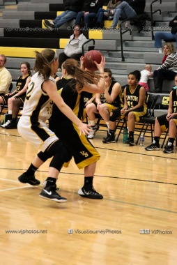 JV Girls Basketball Center Point-Urbana vs Vinton-Shellsburg-1699