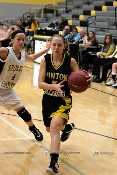 JV Girls Basketball Center Point-Urbana vs Vinton-Shellsburg-1704