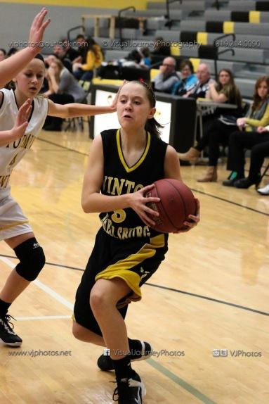 JV Girls Basketball Center Point-Urbana vs Vinton-Shellsburg-1705