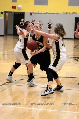 JV Girls Basketball Center Point-Urbana vs Vinton-Shellsburg-1710