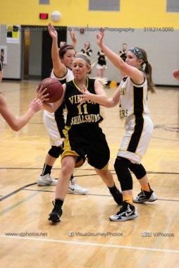JV Girls Basketball Center Point-Urbana vs Vinton-Shellsburg-1711