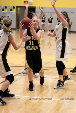 JV Girls Basketball Center Point-Urbana vs Vinton-Shellsburg-1712