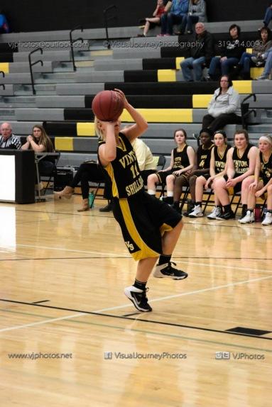 JV Girls Basketball Center Point-Urbana vs Vinton-Shellsburg-1718