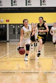 JV Girls Basketball Center Point-Urbana vs Vinton-Shellsburg-1748