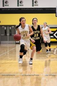 JV Girls Basketball Center Point-Urbana vs Vinton-Shellsburg-1749