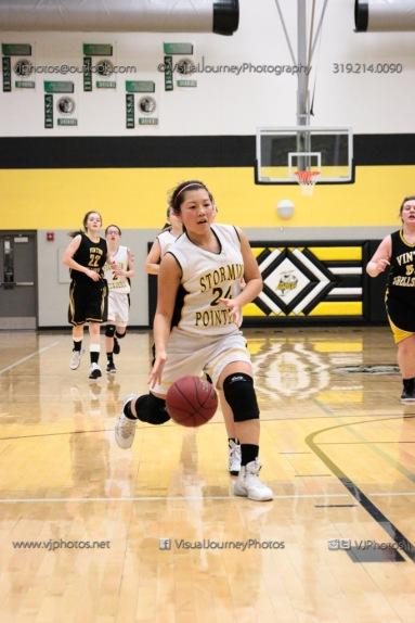 JV Girls Basketball Center Point-Urbana vs Vinton-Shellsburg-1751