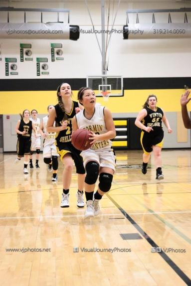 JV Girls Basketball Center Point-Urbana vs Vinton-Shellsburg-1752
