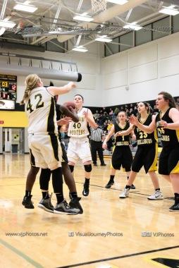 JV Girls Basketball Center Point-Urbana vs Vinton-Shellsburg-1761
