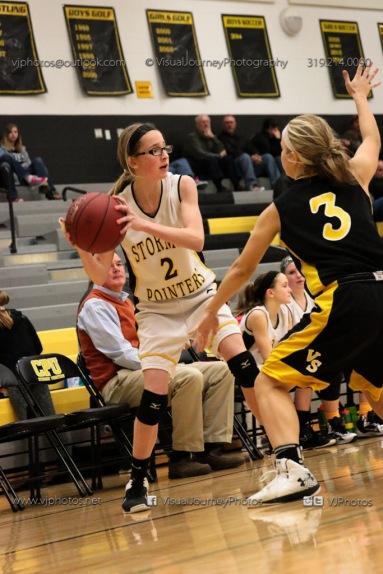 JV Girls Basketball Center Point-Urbana vs Vinton-Shellsburg-1770