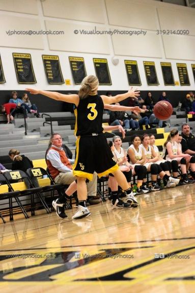 JV Girls Basketball Center Point-Urbana vs Vinton-Shellsburg-1771