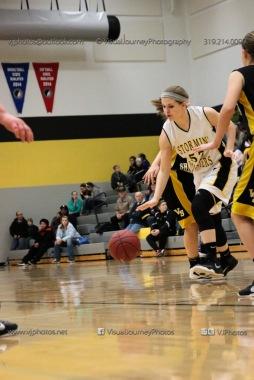 JV Girls Basketball Center Point-Urbana vs Vinton-Shellsburg-1776
