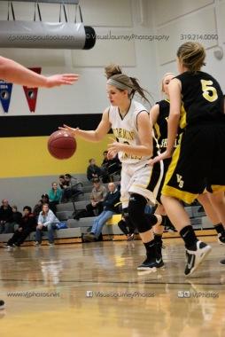 JV Girls Basketball Center Point-Urbana vs Vinton-Shellsburg-1777