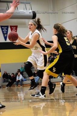 JV Girls Basketball Center Point-Urbana vs Vinton-Shellsburg-1778