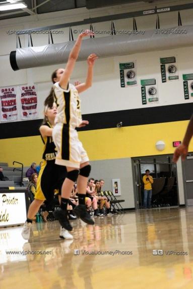 JV Girls Basketball Center Point-Urbana vs Vinton-Shellsburg-1785