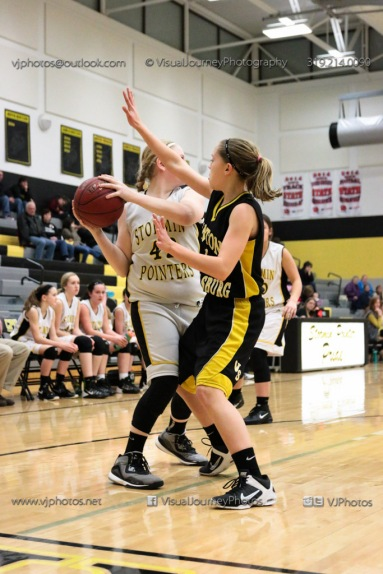 JV Girls Basketball Center Point-Urbana vs Vinton-Shellsburg-1797