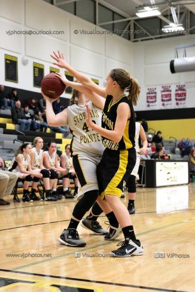 JV Girls Basketball Center Point-Urbana vs Vinton-Shellsburg-1798