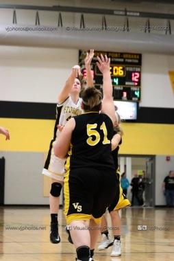 JV Girls Basketball Center Point-Urbana vs Vinton-Shellsburg-1804