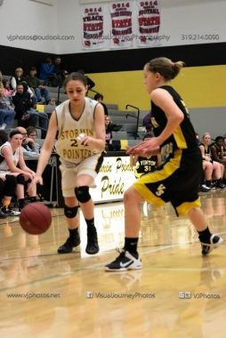 JV Girls Basketball Center Point-Urbana vs Vinton-Shellsburg-1805