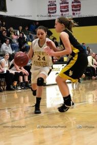 JV Girls Basketball Center Point-Urbana vs Vinton-Shellsburg-1806